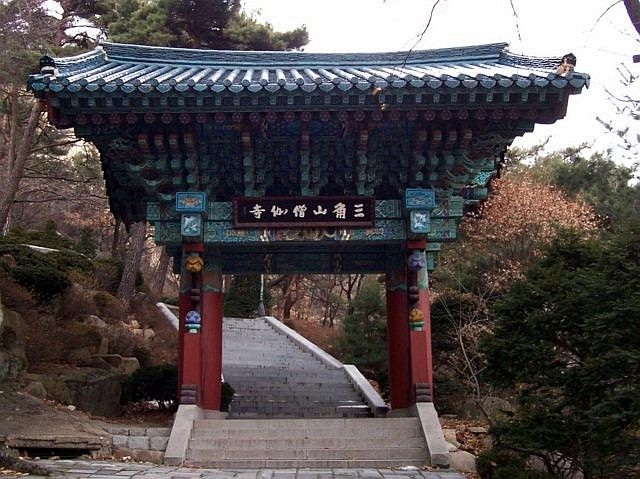 Sunggasa temple (Bukhansan) - gate