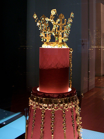 Seoul National museum - Golden crown (Silla period)