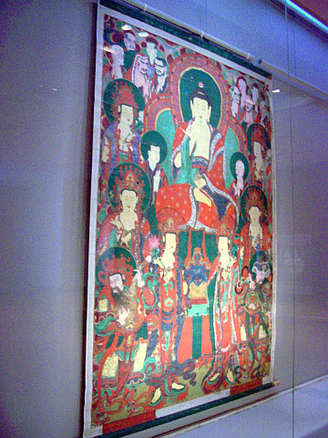 Seoul National museum - Buddhist hanging