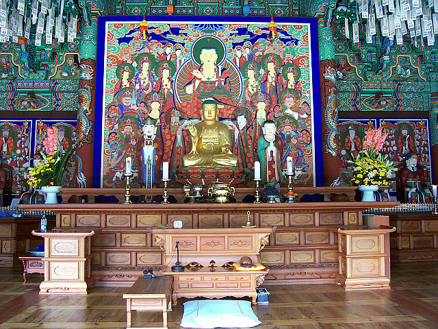 Bongeunsa temple - Hall of judgement