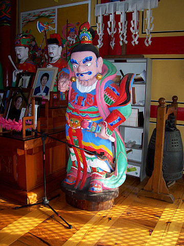 Bongwonsa temple - One of the guardians