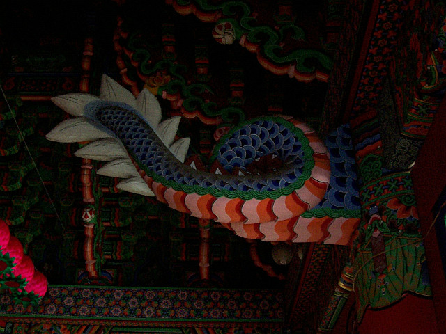Bongwonsa temple - Dragon's tail