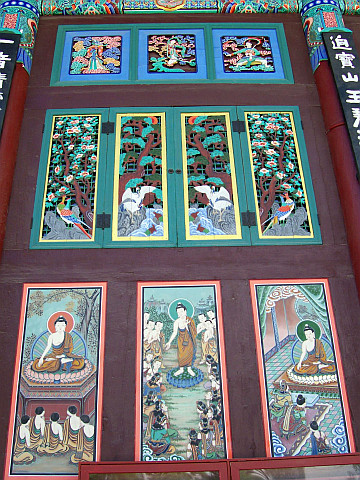 Jogyesa temple - Paintings and decorations