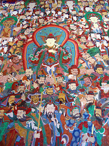 Jogyesa temple - Painting