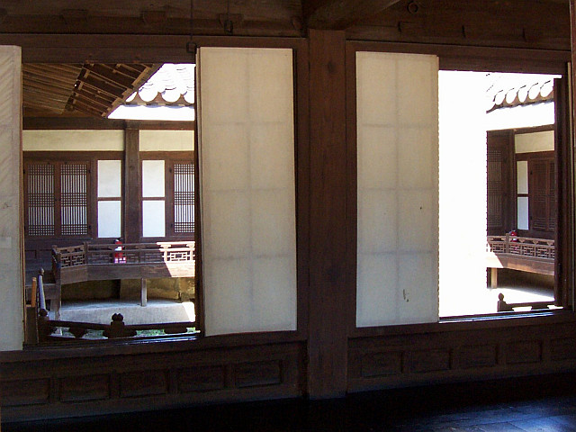 Unhyungung palace - Irodang (view on the inside court)