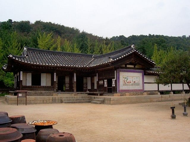 Yong-in folk village - Traditional house of the nobility
