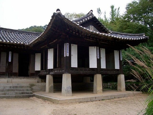 Yong-in folk village - Traditional house