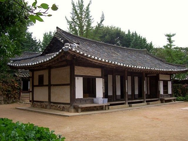 Yong-in folk village - Confucianist study house