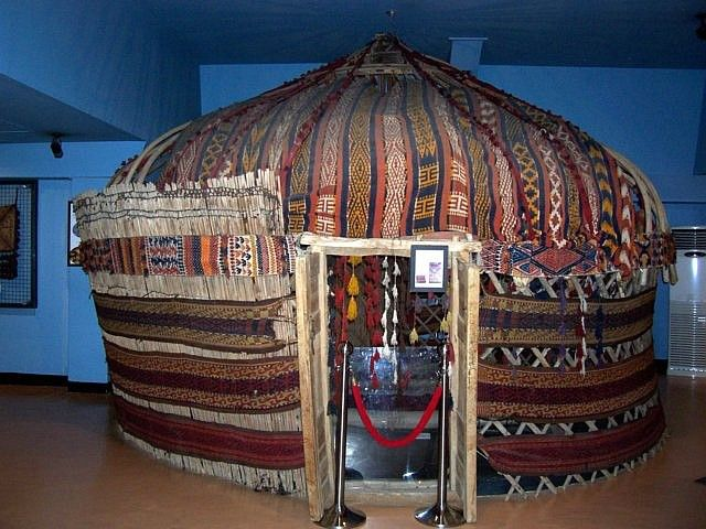 Musée du folklore mondial (Yong-in) - yourte afghane