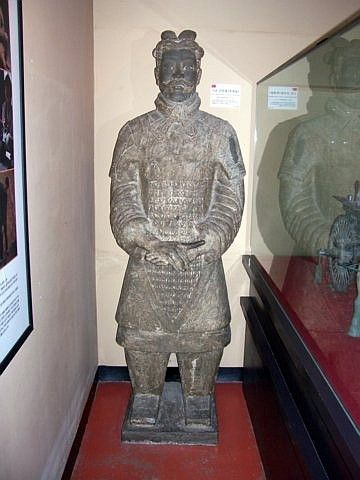 World Folk Museum (Yong-in) - repro' underground army warrior from Xi'an
