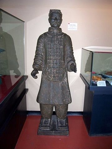 World Folk Museum (Yong-in) - repro' Qin army warrior from Xi'an