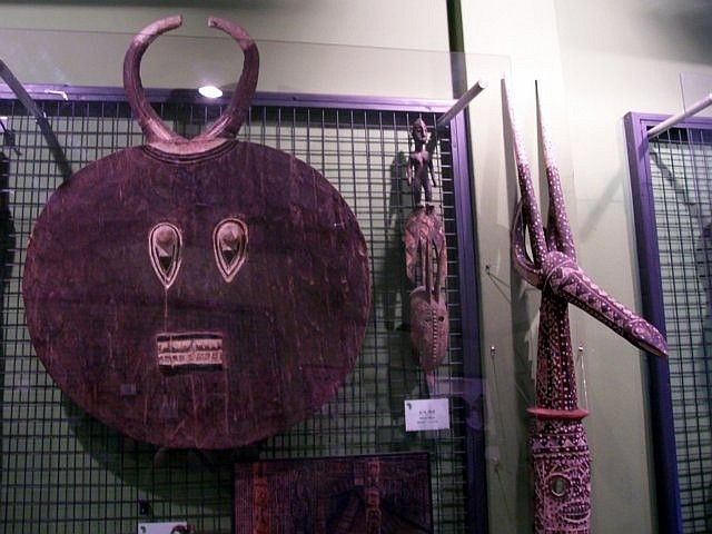 World Folk Museum (Yong-in) - masks and African decorations