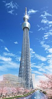 "Project ""Tokyo sky tree"" for 2012"