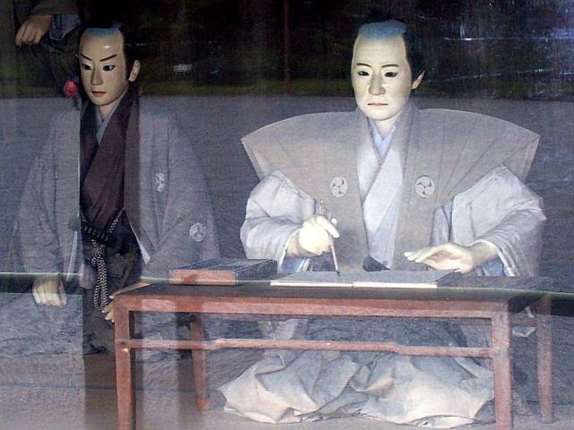 Nijo castle - Shogun dummy