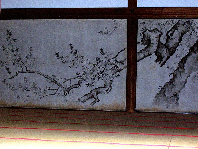 Imperial palace - Sliding doors (branches)