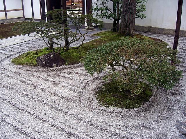 Photo temple ginkaku ji petit jardin zen for Photo de petit jardin zen