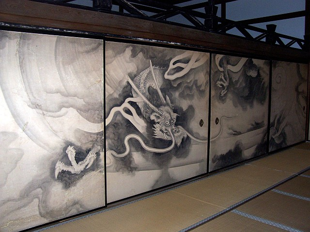 Ryoan-ji temple - Sliding doors