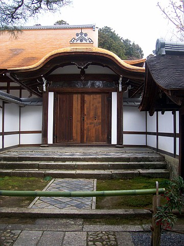 Ryoan-ji temple - Gate