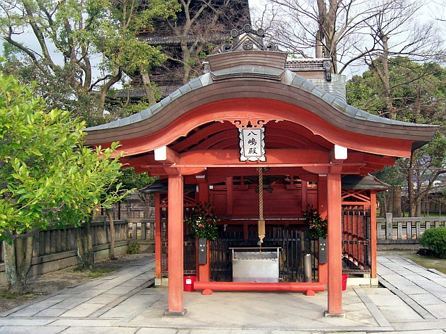 Temple Toji - Masha (shintô)
