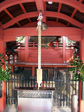 Toji temple - Rope of the masha