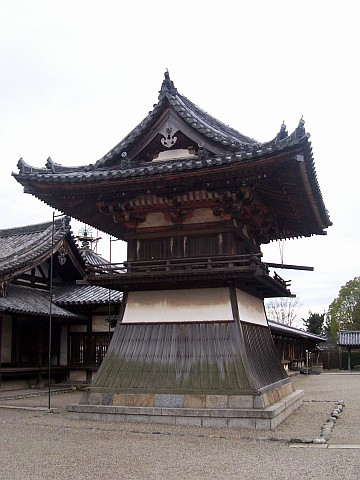 Horyuji temple - Drum tower or bell tower