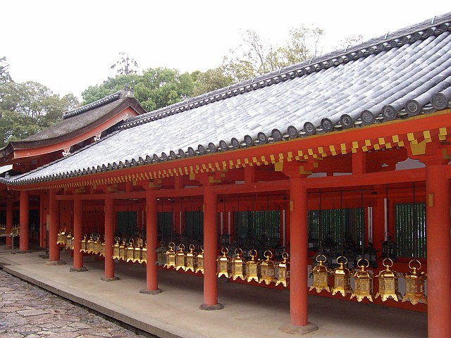 Picture : Kasuga Taisha shrine - Lanterns