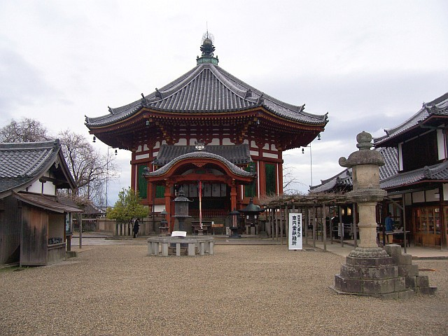 Shinto shrine in the compound of Kofukuji temple