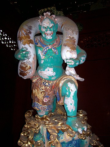 Taiyuin Byo shrine - God of the wind