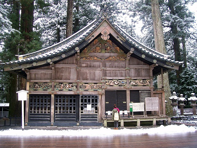 Toshogu shrine - Sacred stable