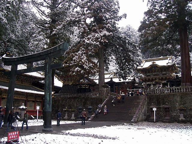 Toshogu shrine - Entrance to the sacred place