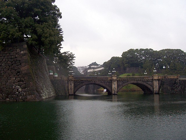 Imperial gardens - Bridge with 2 archs