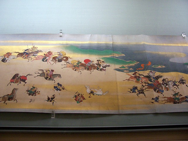 Tokyo National museum - Illustrations on roll