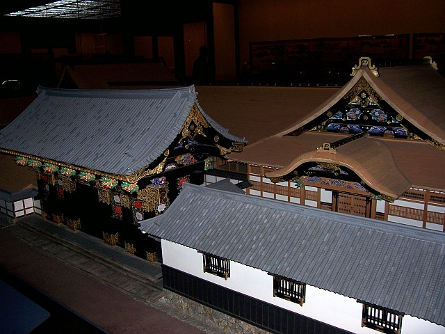 Edo-Tokyo museum - Model of a former palace