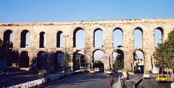 Valens aqueduct of Constantinople