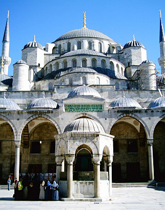 Domes of the blue Mosque