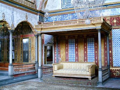 Imperial hall in Topkapı palace