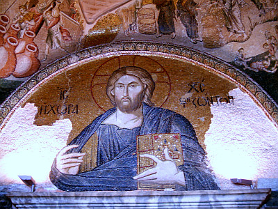 Christ pantocrator in Chora church