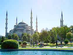 Symbol of Turkey : the blue mosque