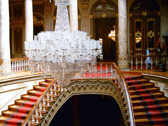 Dolmabahçe palace - Crystal staircase
