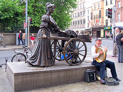 Statue of Molly Malone