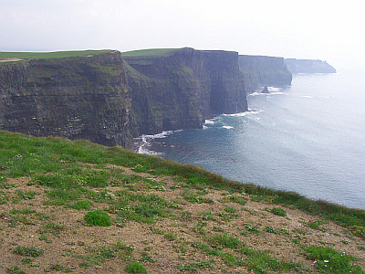 Les falaises de Cliffs of Moher
