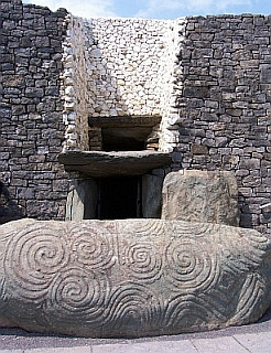 Entry of Newgrange tumulus