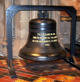 St. Patrick cathedral - Huguenot bell