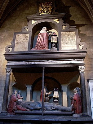 St. Patrick cathedral - Monument to Thomas Jones and his son