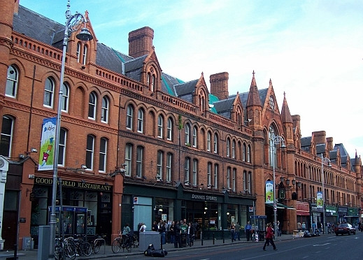 Dublin - Building of the covered market