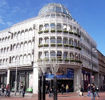 Dublin - Saint Stephen's green commercial center