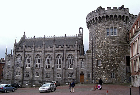 Dublin Castle - Tower and chapel