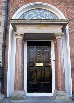 Photo porte de maison g orgienne dublinoise vue 8 for Porte de maison