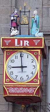 O'Connell street - Horloge