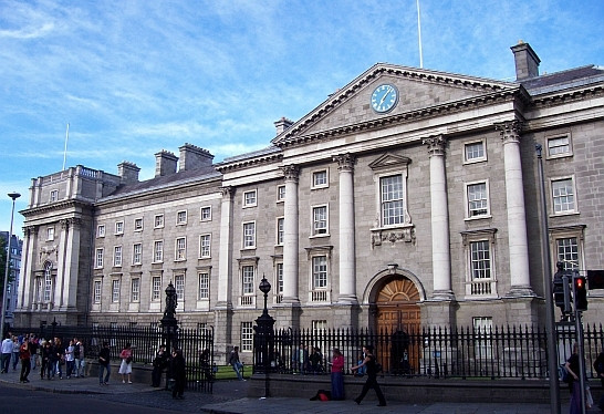 Entrance of Trinity college